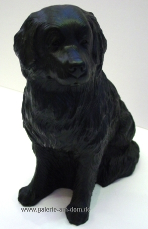 Wagner Hund klein Schwarz, Signiert