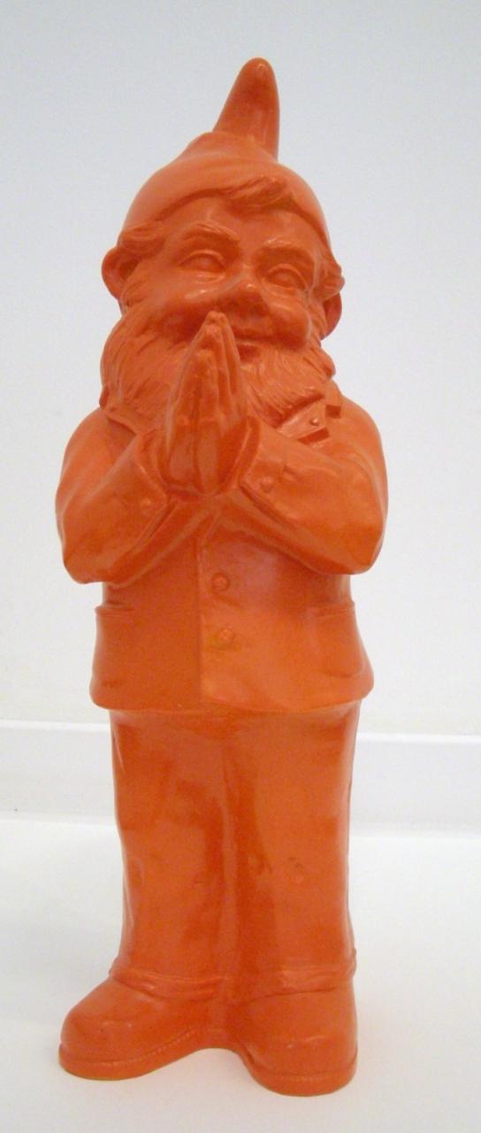 Ben, der betende Zwerg - orange