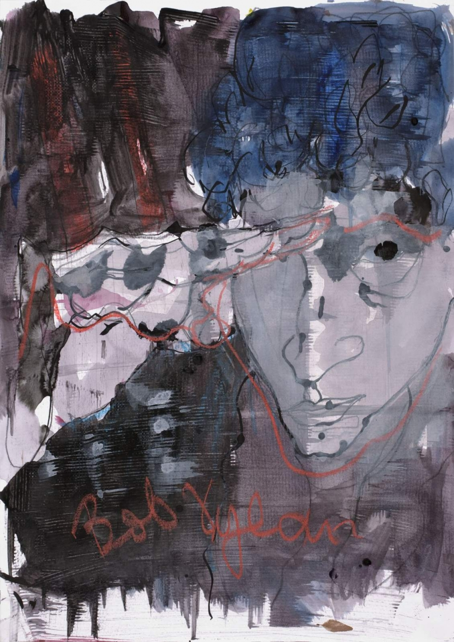 Porträt - Bob Dylan
