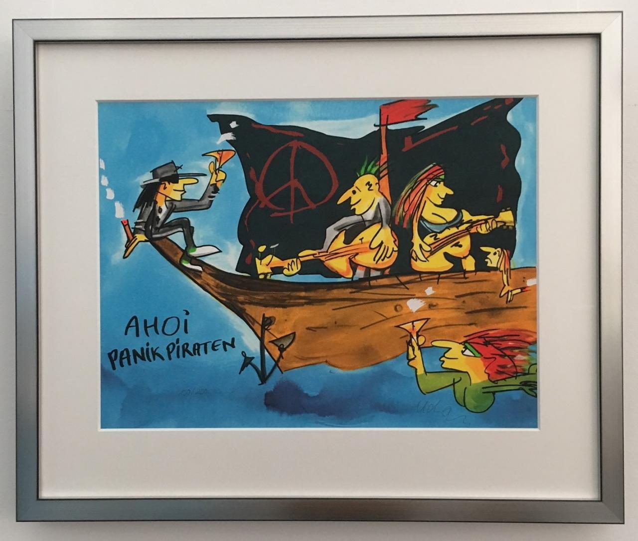 Ahoi Panik Piraten gerahmt