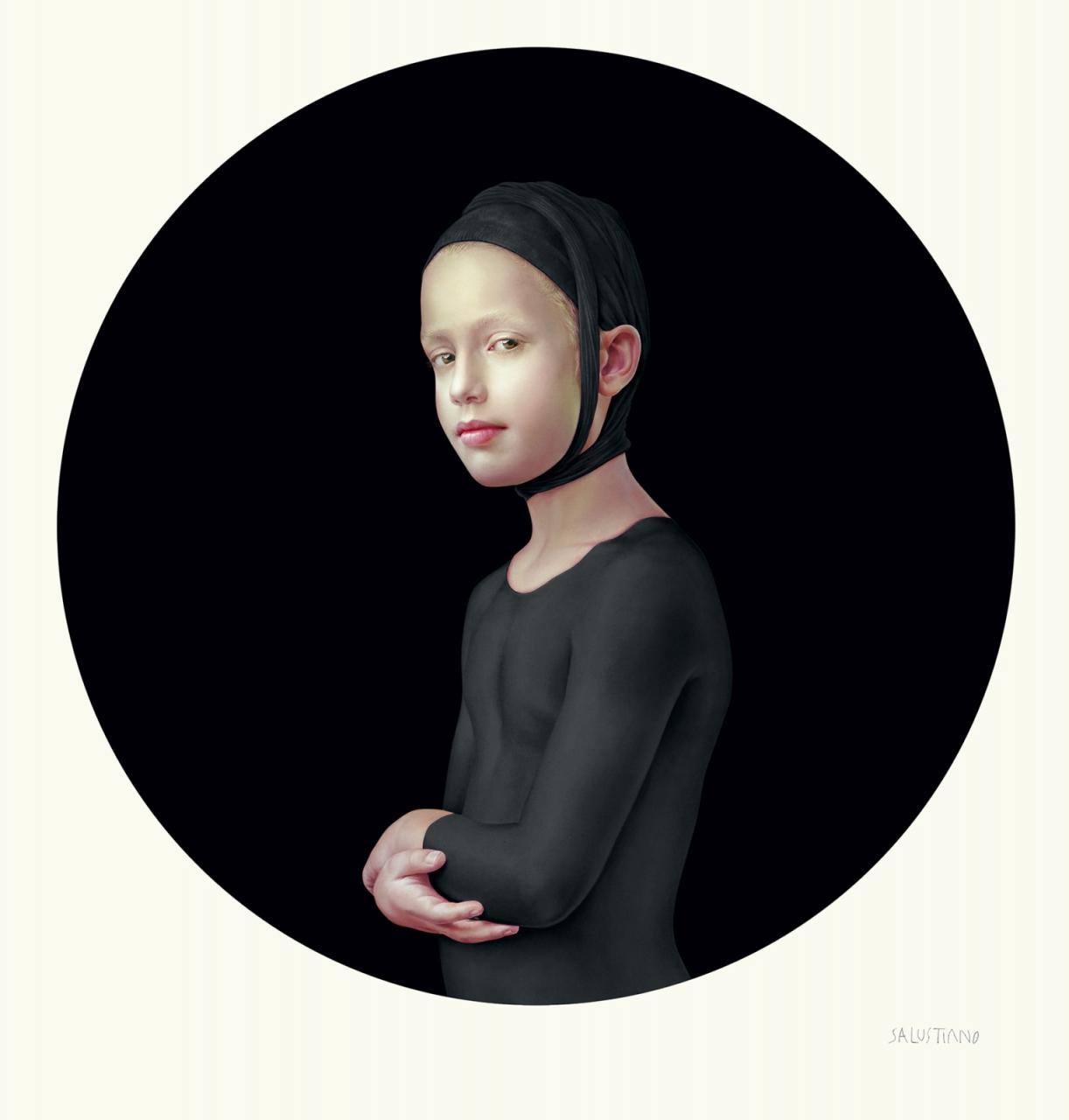 Roses June Stillness (schwarz), 2018
