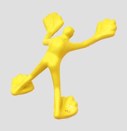 Flossi II - gelb-warm