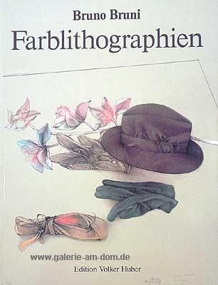 Werkverzeichnis der Farblithografien 1976-1988