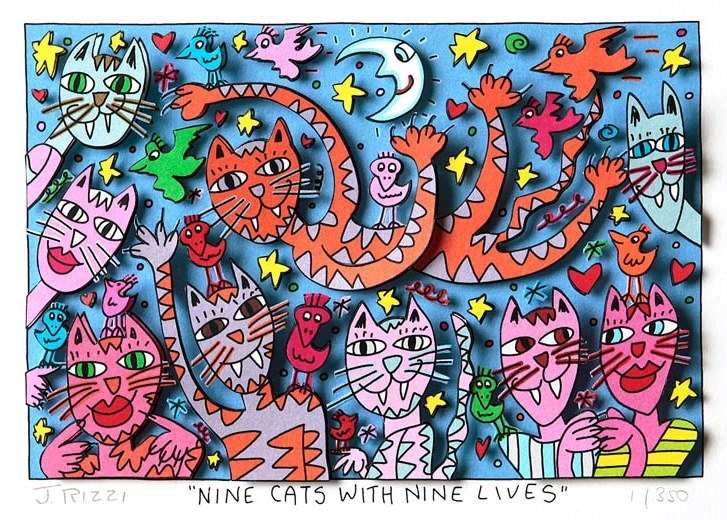 Nine Cats with Nine Lives