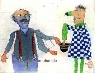 Ich und Kasper (blau-grün)