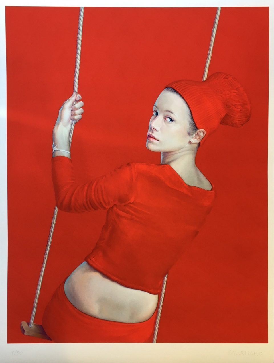 Presente Pluscuamperfecto No. 4 (Swing red)-rectangle