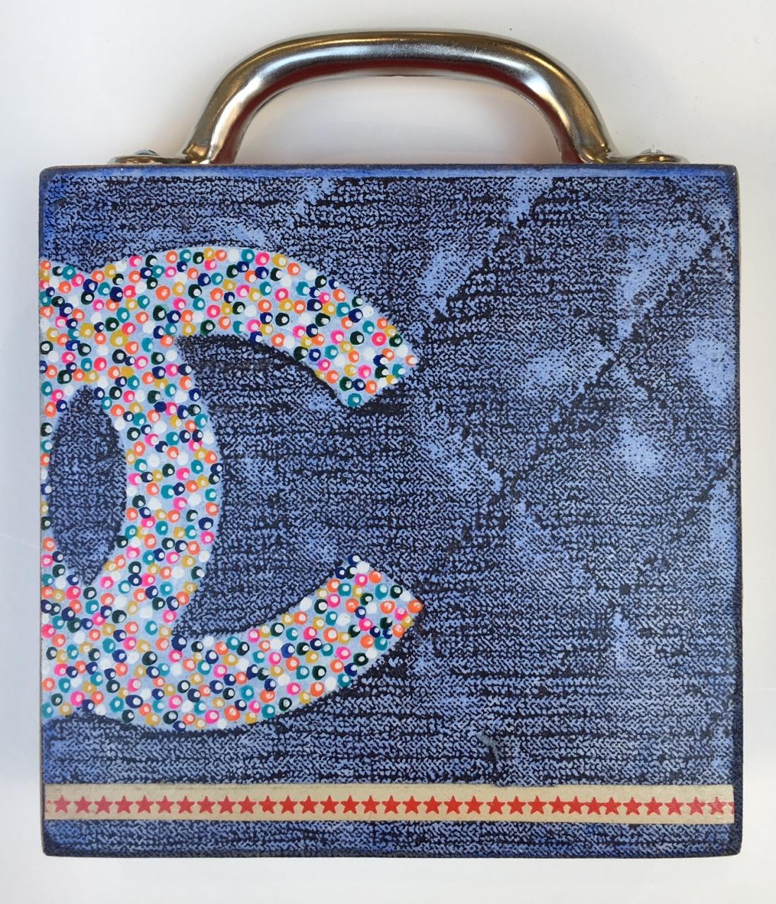 Wandtasche CC (dunkel)