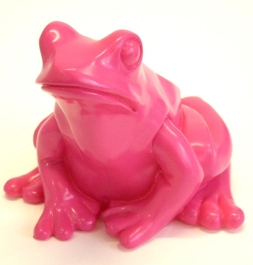 Froschkönig - pink, signiert