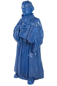 Martin Luther - kobaltblau