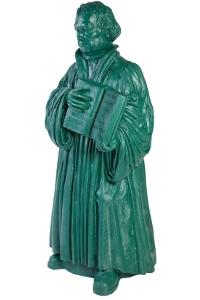 Martin Luther - dunkelgrün, signiert