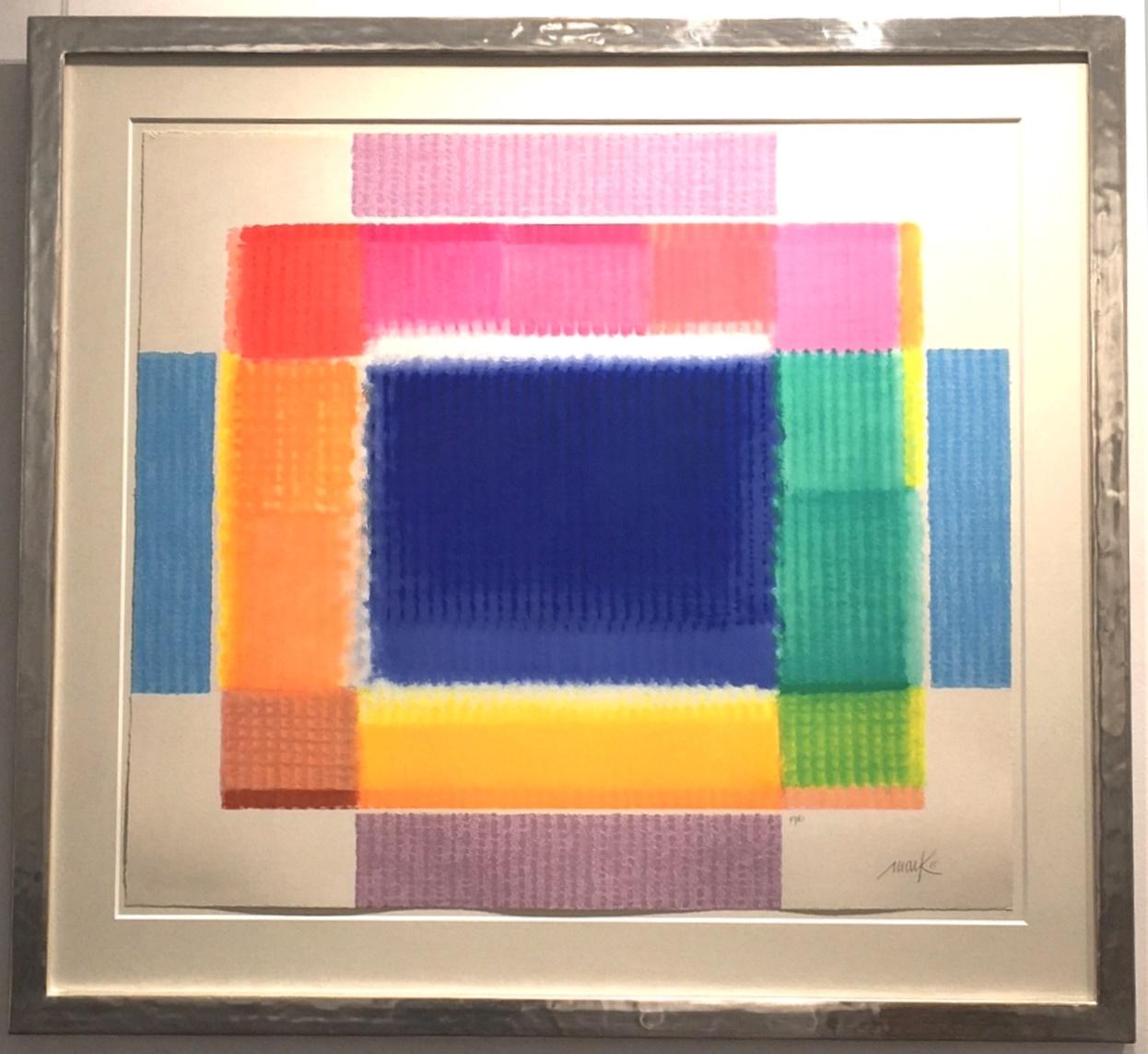 Color Frame gerahmt