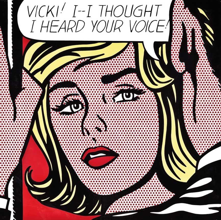 Roy Lichtenstein: Vicki