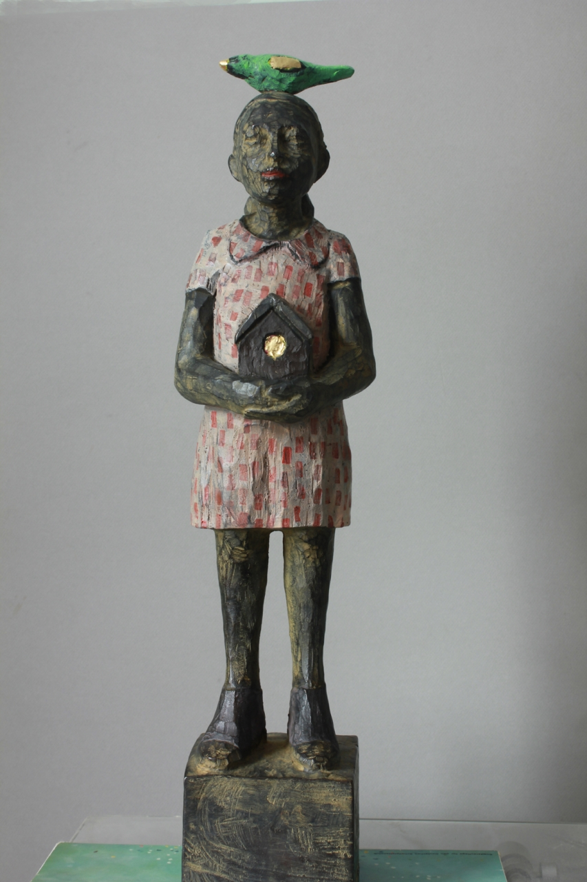 Vogelfrau Bronze EA 1/3