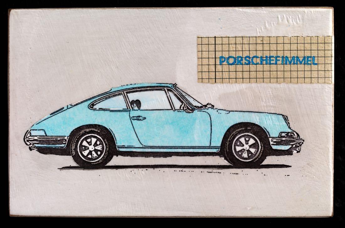 Porschefimmel - 911 hellblau rechts