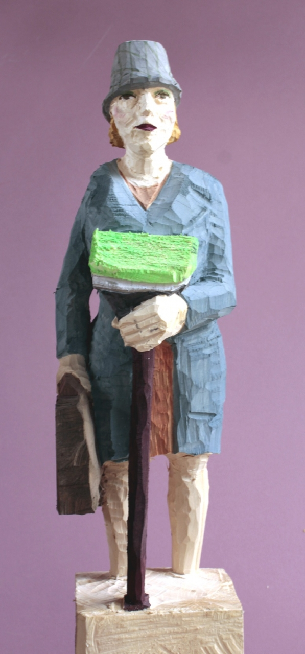 Edekafrau (932) mit Microfaserschrubber