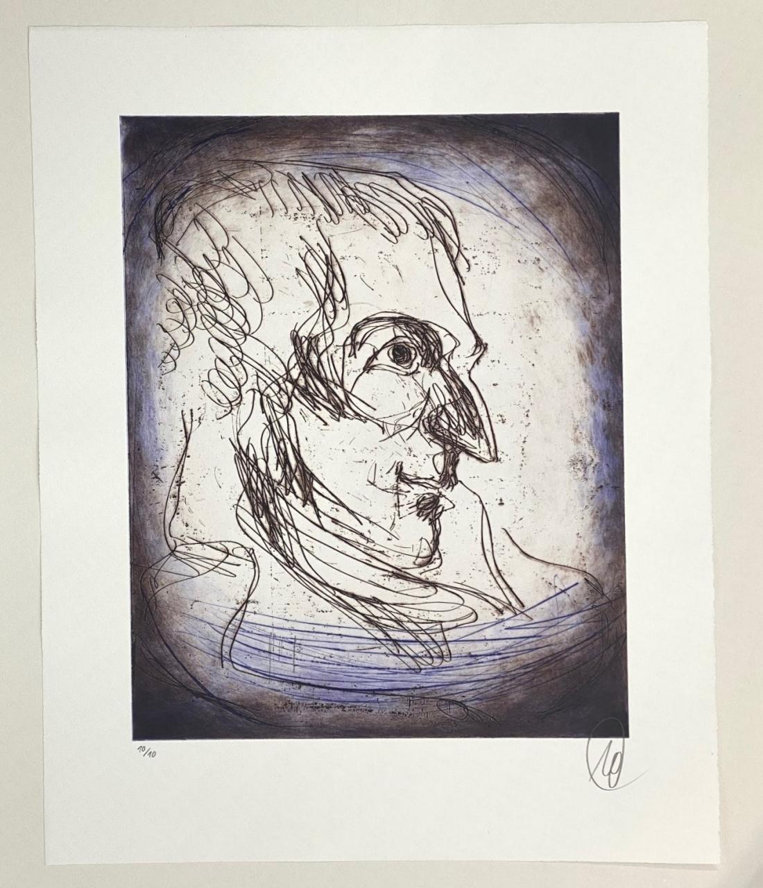 Friedrich Schiller - Variante blau