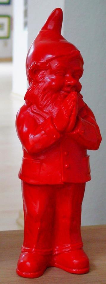 Ben, der betende Zwerg - rot