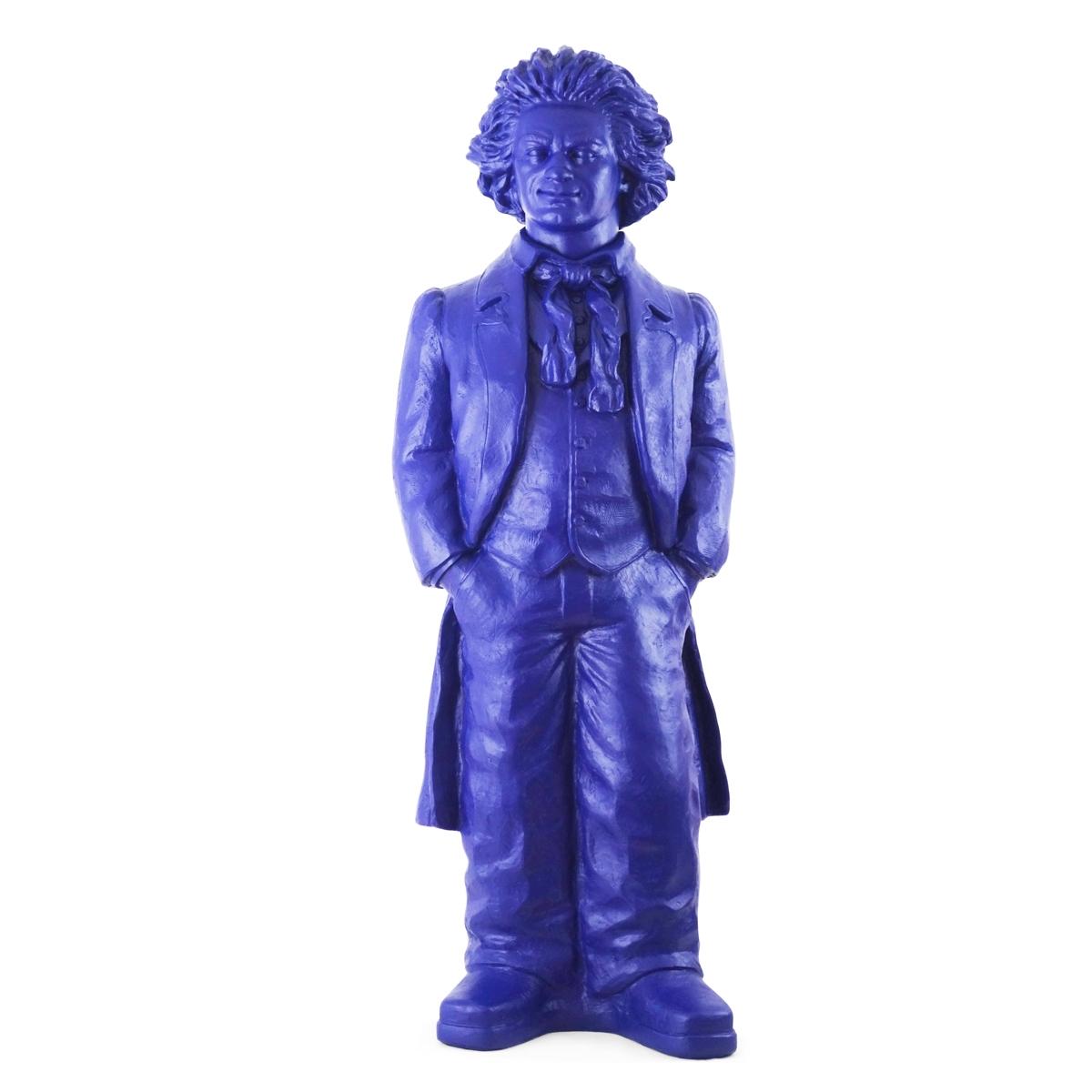 Ludwig van Beethoven - nachtblau, signiert
