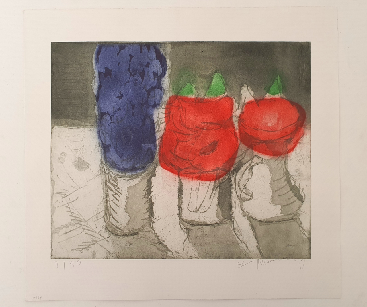 Rittersporn und Rosen 1991