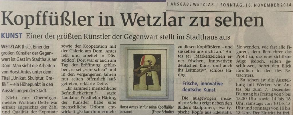 Sonntag-Morgenmagazin-Wetzlar_Antes_16-11-2014