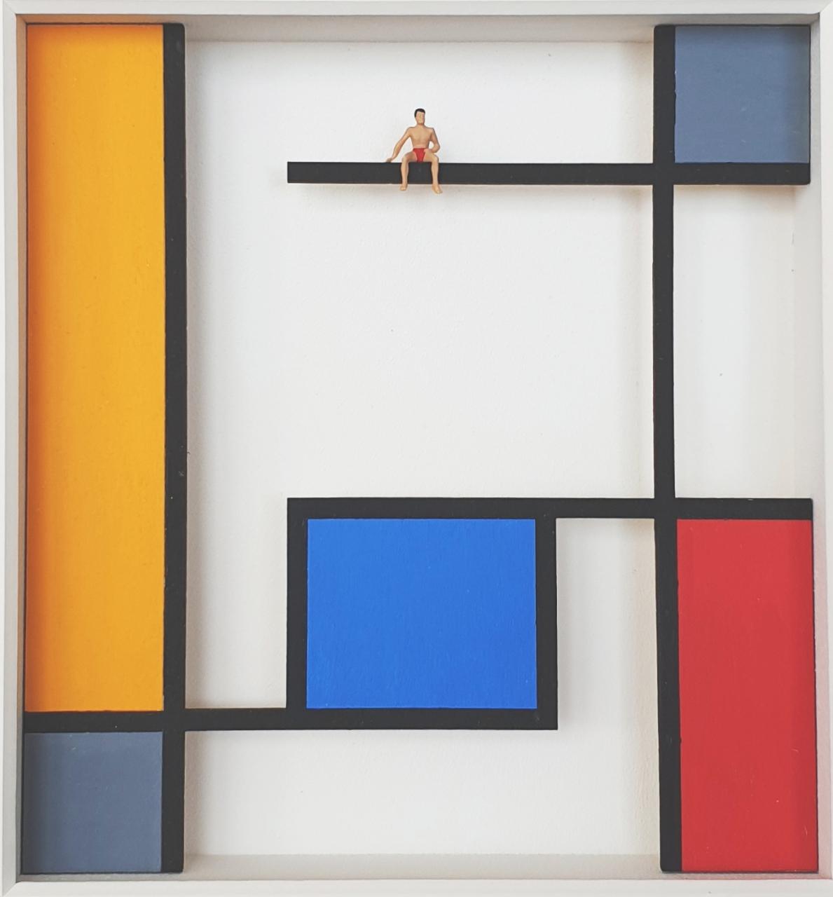 The Pool - Homage à Mondrian