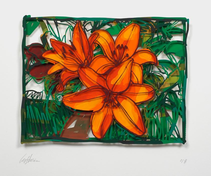 Open Lillies