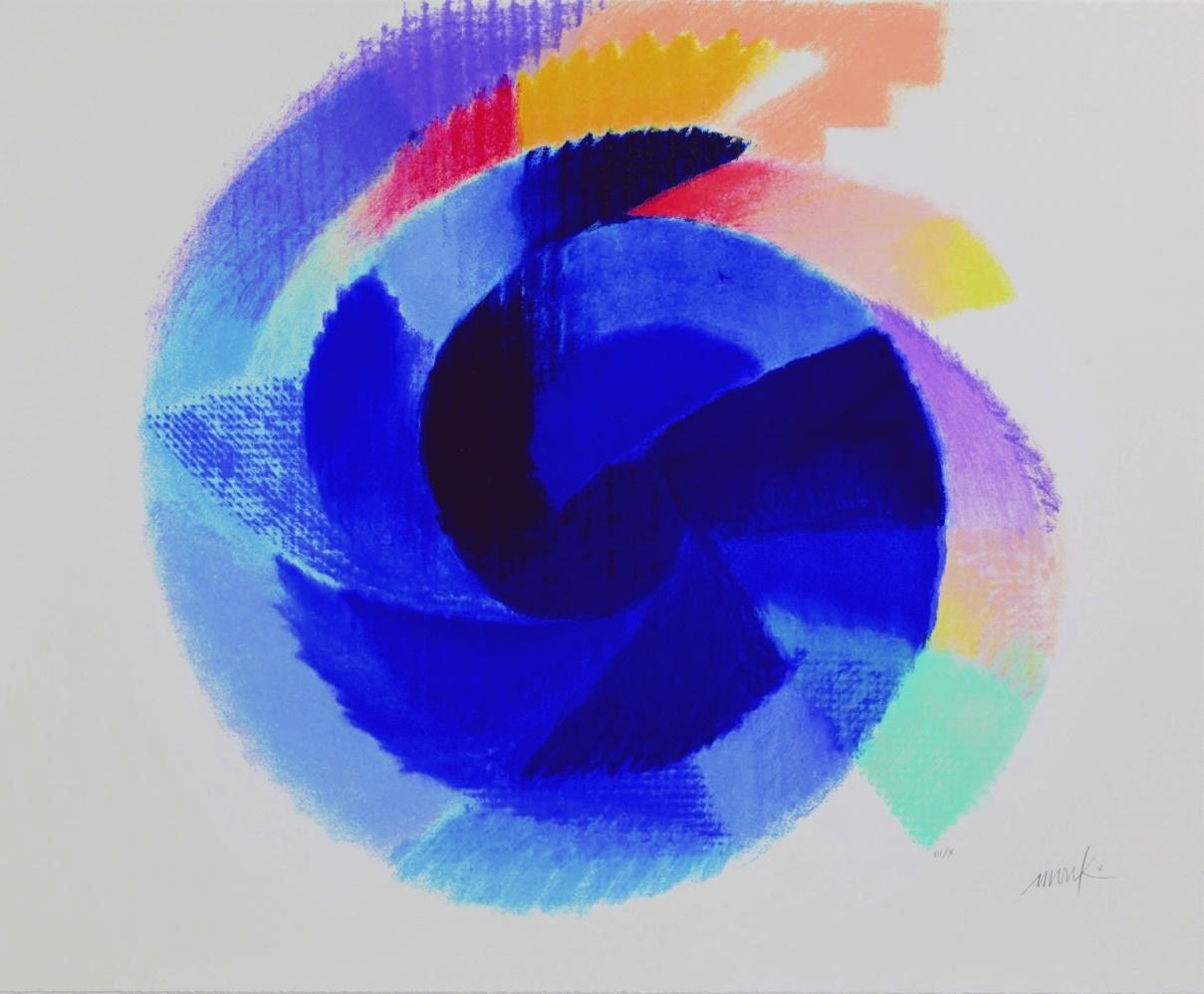 Blaue Rotation