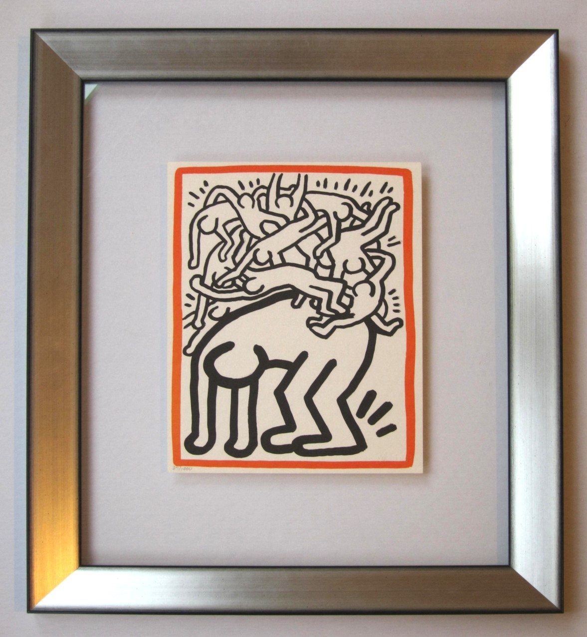 Keith Haring: Fight Aids Worldwide