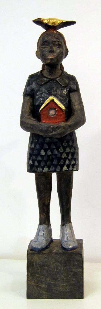 Vogelfrau Bronze EA 3/3