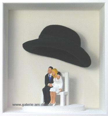 Zwei unter einem Hut
