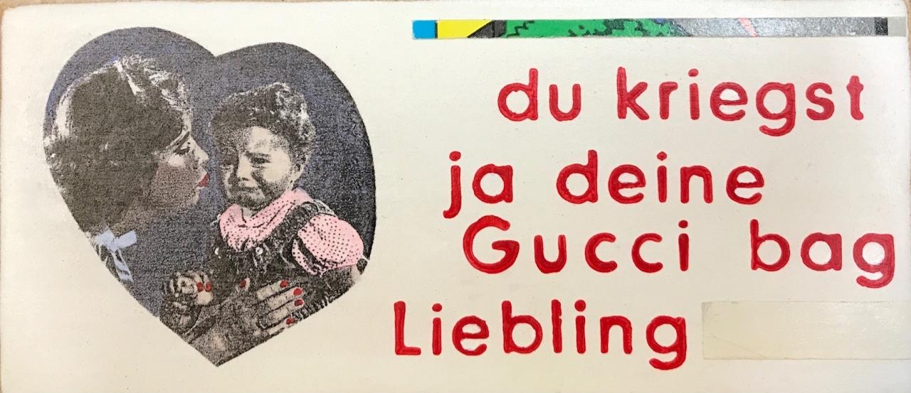 Du kriegst ja deine Gucci Bag Liebling - quer