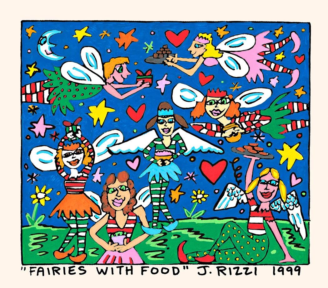 Fairies with Food