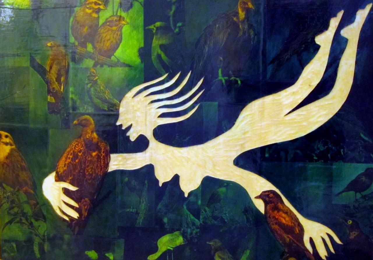 Pflanzenmenschen - Vögel