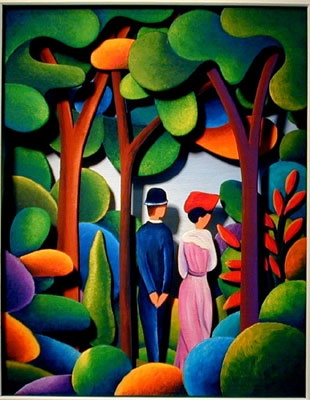 The Garden of August Macke