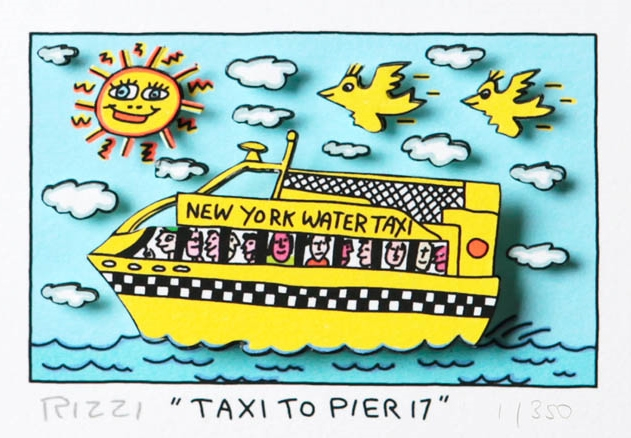 Taxi to Pier 17