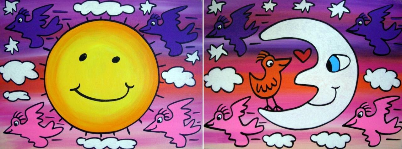 The sun-the moon+the stars