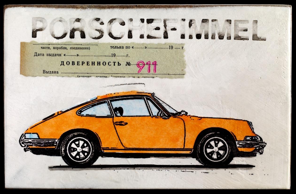Porschefimmel Vollmacht 911 - lightorange