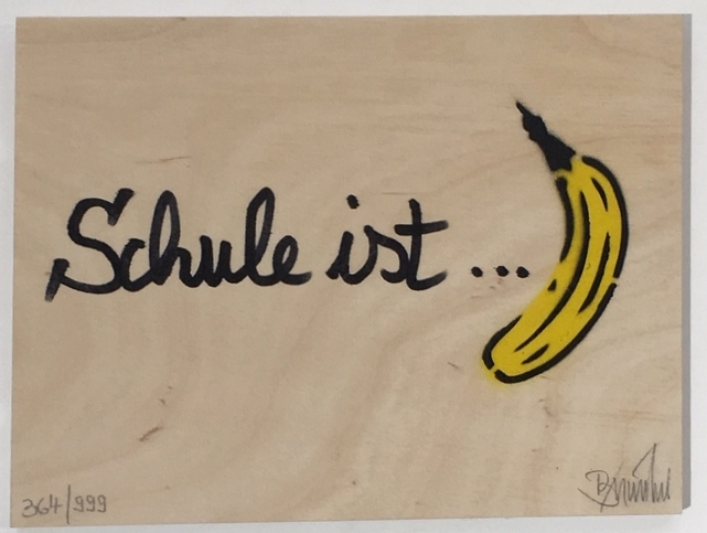 Schule ist Banane