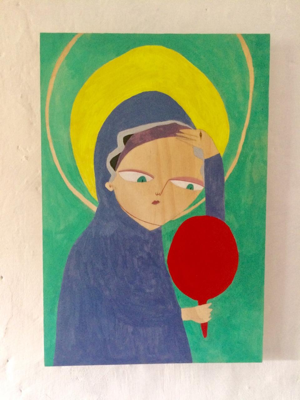 Maria mit starken Selbstzweifeln