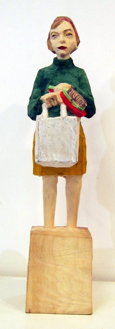 Edekafrau (874) mit Kehrblech