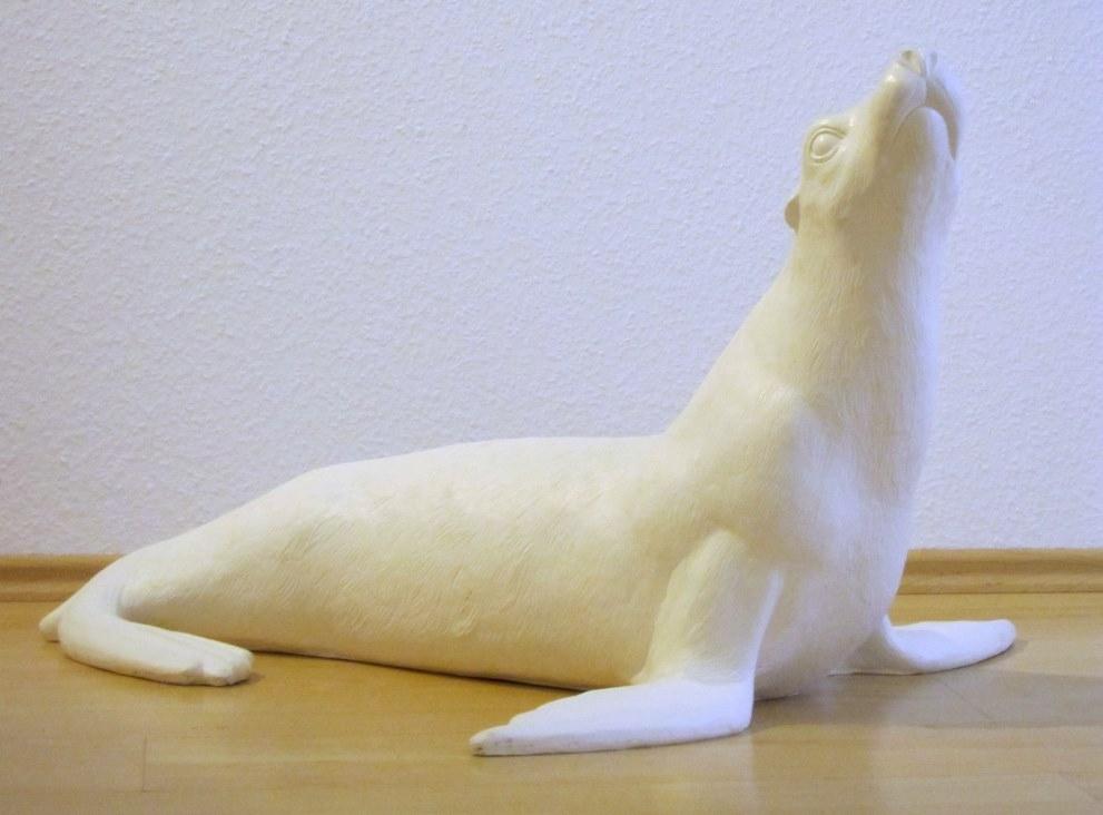 Seelöwe - weiß
