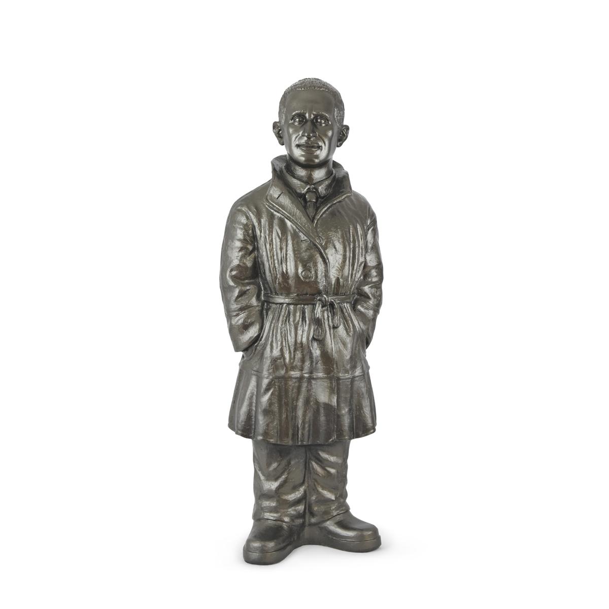 Bertolt Brecht - 2019 - bronze - signiert