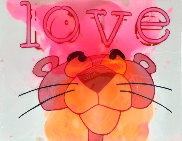 Pink Love - Epoxy