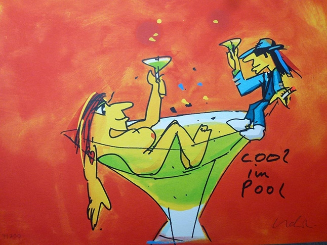 Cool im Pool - Grafik 2016