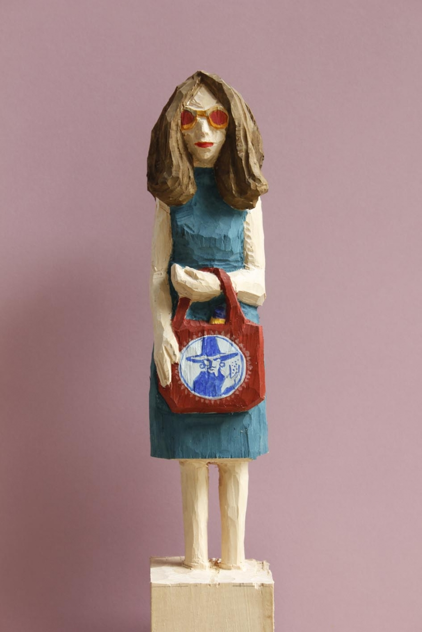 Edeka Frau (829) mit Sonnenbrille