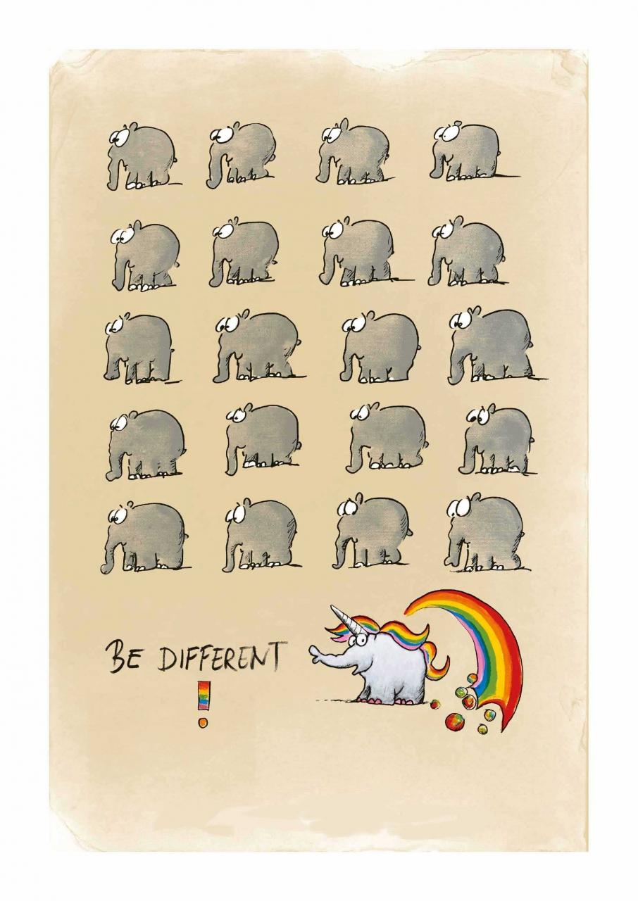 Be Different - Einhorn