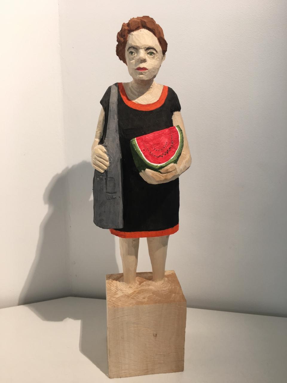 Edekafrau (1335) mit Wassermelone