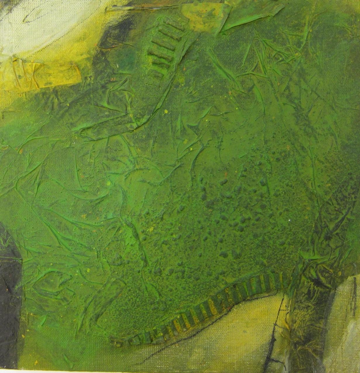 o.T. 30 x 30 cm (1) - grün