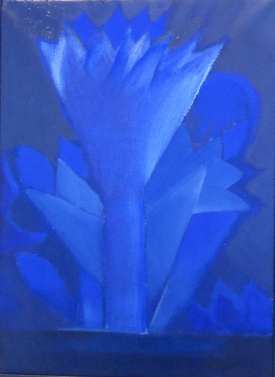 Blume der Nacht, gerahmt