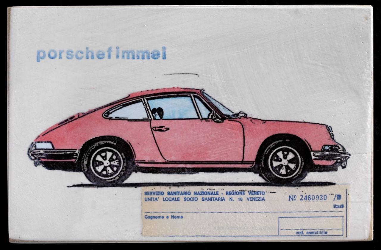 Porschefimmel - Rosa